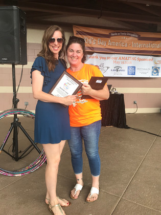 Children's Empowerment Award Winner - Danielle Lang
