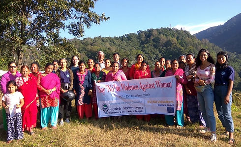 VIN workshop on say no to domestic viole