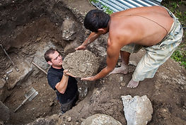 VIN Volunteer Abroad helping toilet construction in Jitpur, Nepal