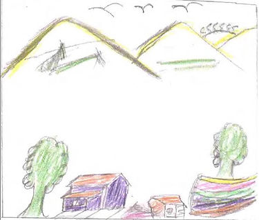 Drawing from Sponsored girl sent to Sponsor