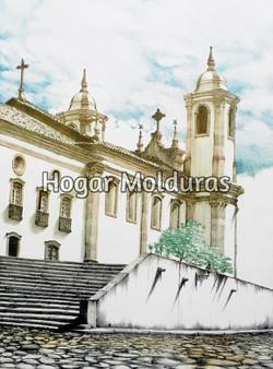 Ouro Preto - Litogravura