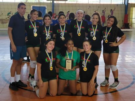 Equipo Senior Femenino (Voleibol): ¡SUBCAMPEONAS!