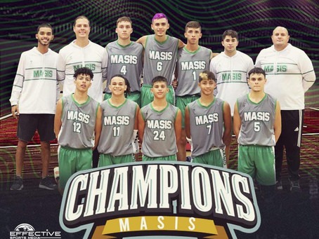 Junior Basketball Team: CHAMPIONS!