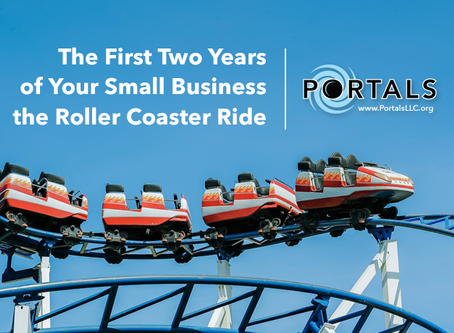 The First Two Years Of Your Small Business – The Roller Coaster Ride