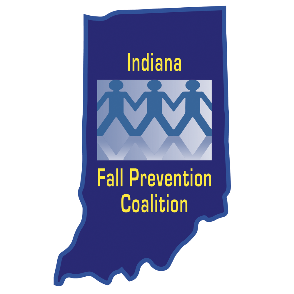 Logo for the Indiana Fall Prevention Coalition