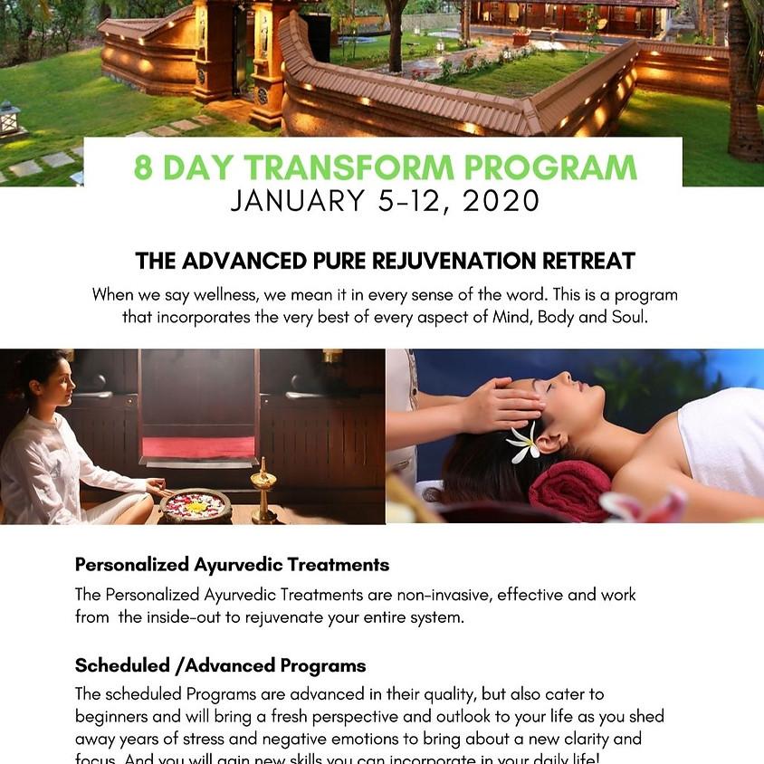 Advanced Pure Rejuvenation Retreat 2020