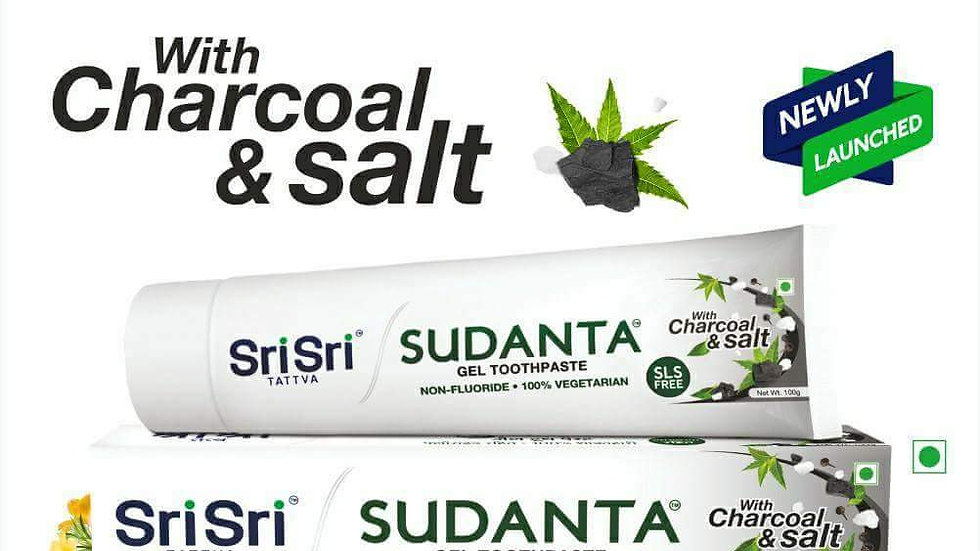Sri Sri Tattva Ayurvedic Herbal Sudanta Toothpaste