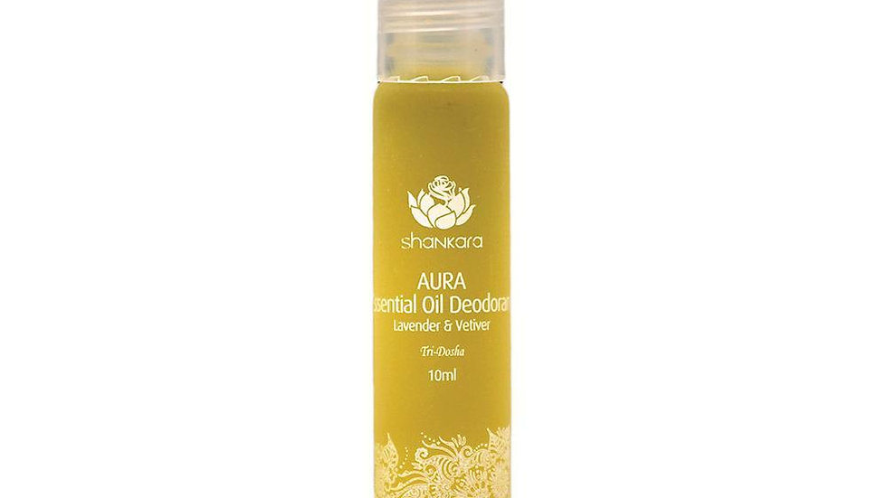 Shankara Lavender and Vetiver Essential Oil Aura Deoderant