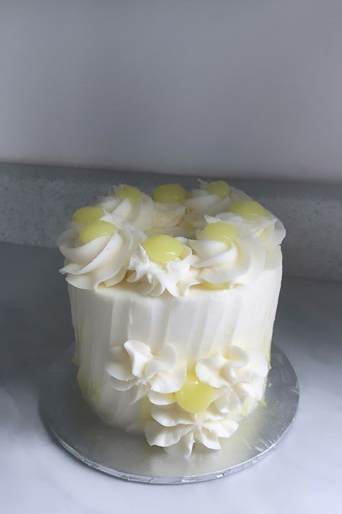 """4"""" Lemon Heaven Cake"""