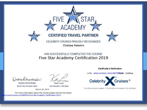 Celebrity Cruises Certified Travel Partner