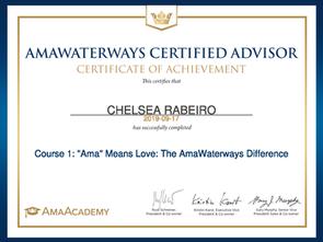AmaWaterways Certified Advisor