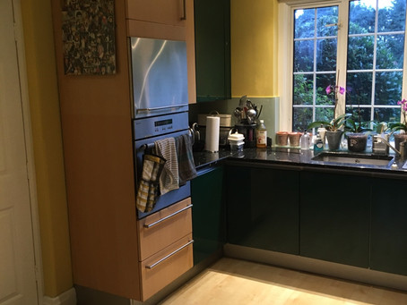 Kitchen Redecorated