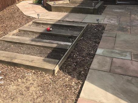 Preparing Herb Garden