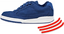 Athletic shoe indicating high joint impact.