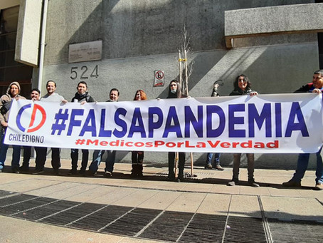 Chile Digno, El único Movimiento que ha dado la cara contra la Plandemia.