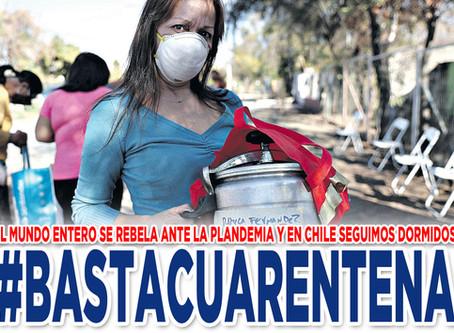 Chile no se someterá #BastaCuarentena