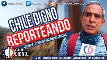 PORTADAS CHILE DIGNO REPORTEANDO canal 1