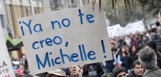 Bachelet en La Moneda: Nunca Más
