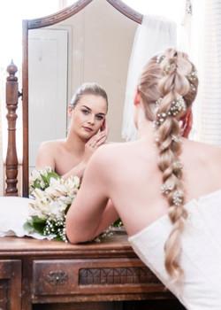 Bridal headshot - 2
