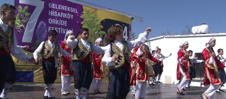 Folk Dance Show at Hisarkoy Festival
