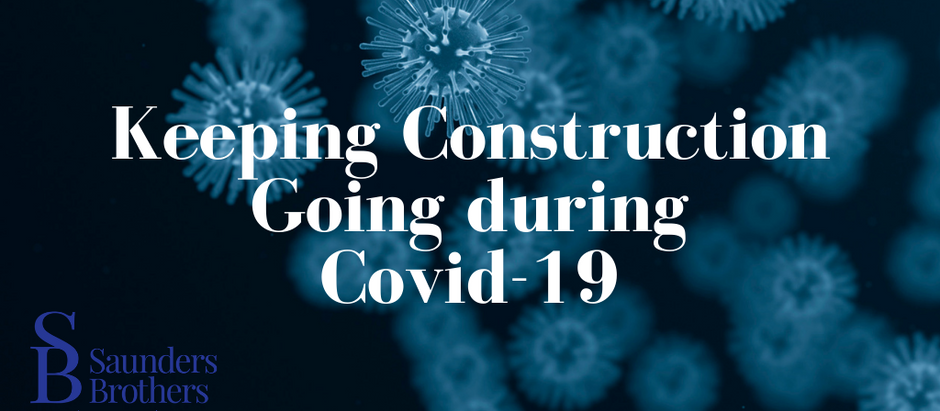 Keeping Construction Going during Covid