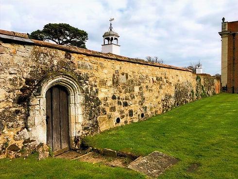 Listed retaining wall restoration