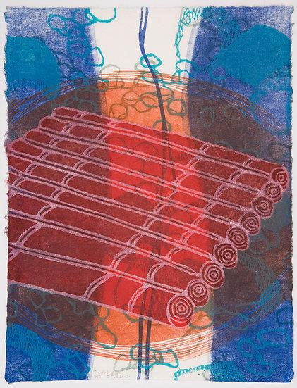 The Red Raft (framed)