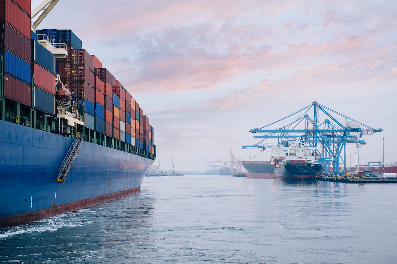 Container Ship, Logistic Company