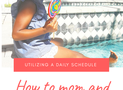 How to mom and work from home successfully.