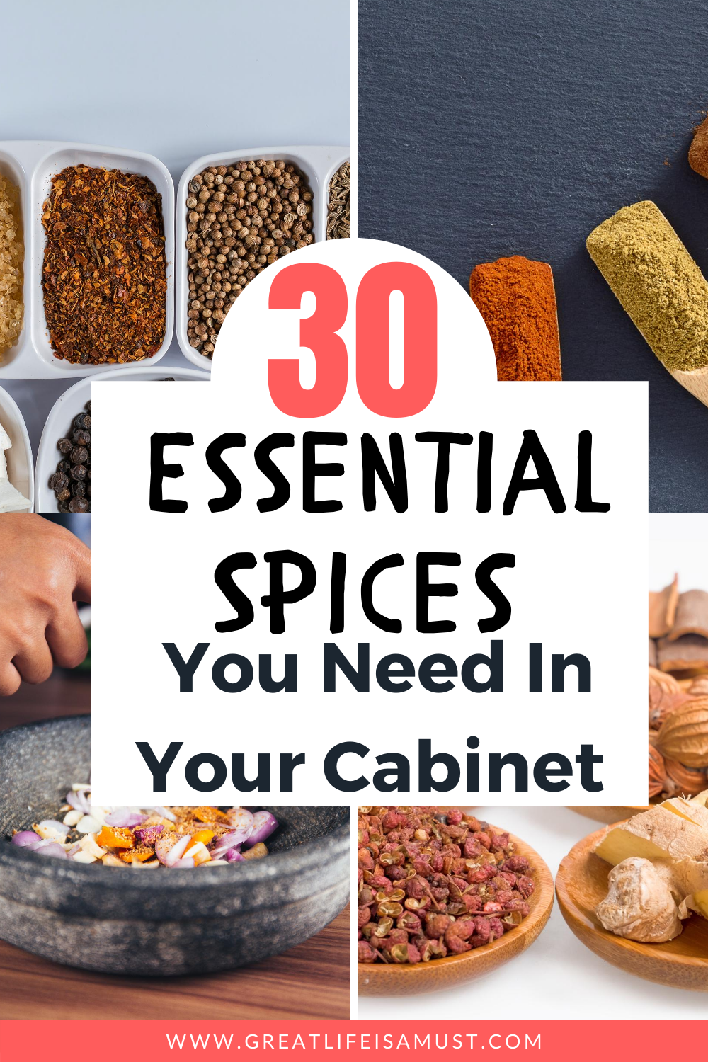 30 Essential Spices