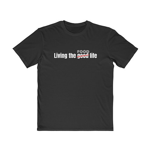 Men's Living the Food life Tee