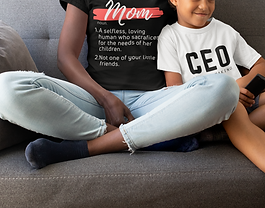 t-shirt-mockup-featuring-a-mom-and-her-s