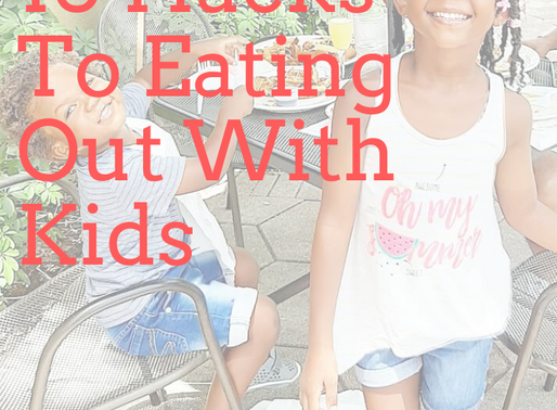 10 Tips for Going Out To Eat With Kids