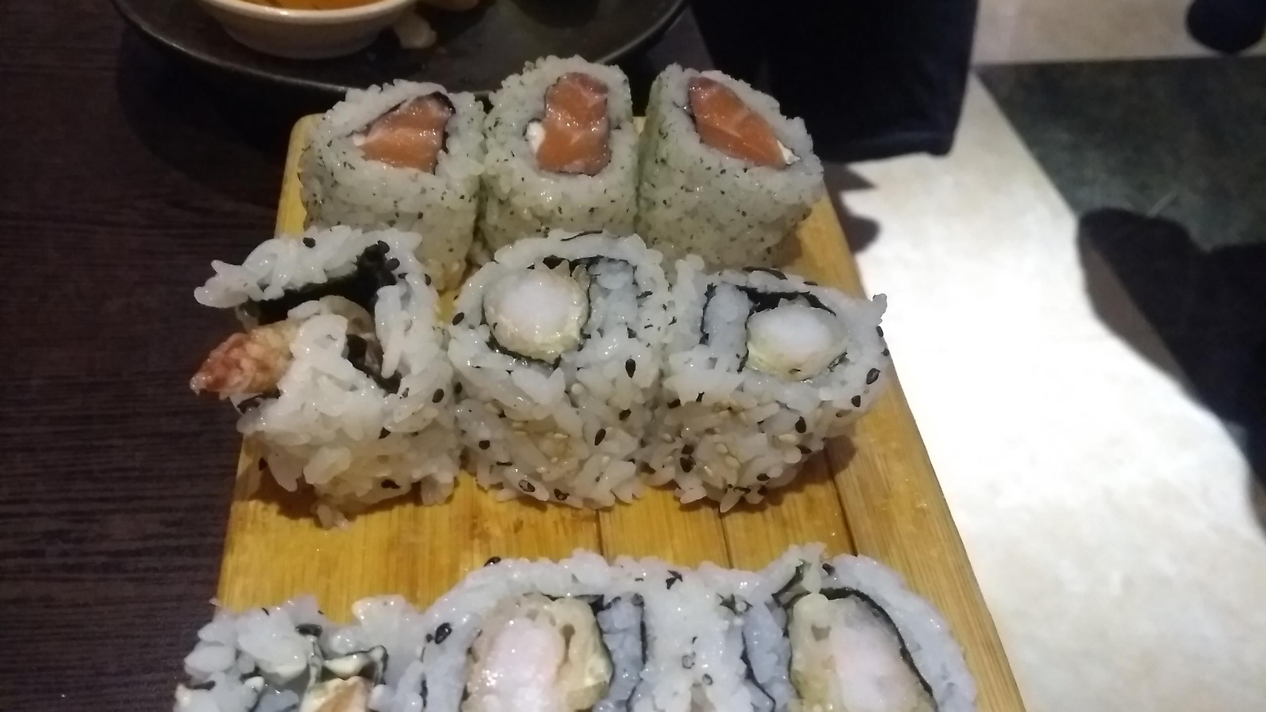 Sushi from Ninja House