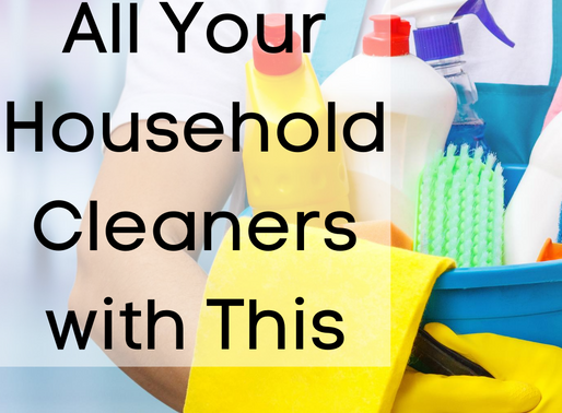 Replace All Your Household Cleaners with This!