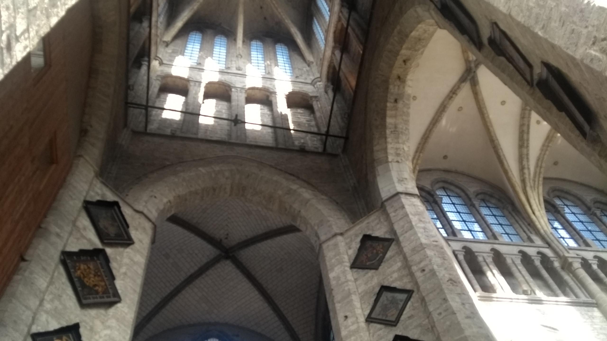 inside St. Nicholas' curch
