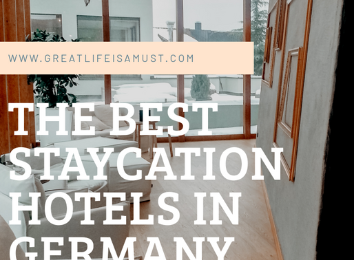 My Favorite Staycations in Germany !