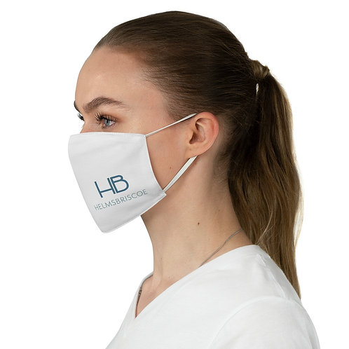 HB logo Fabric Face Mask (Customizable)