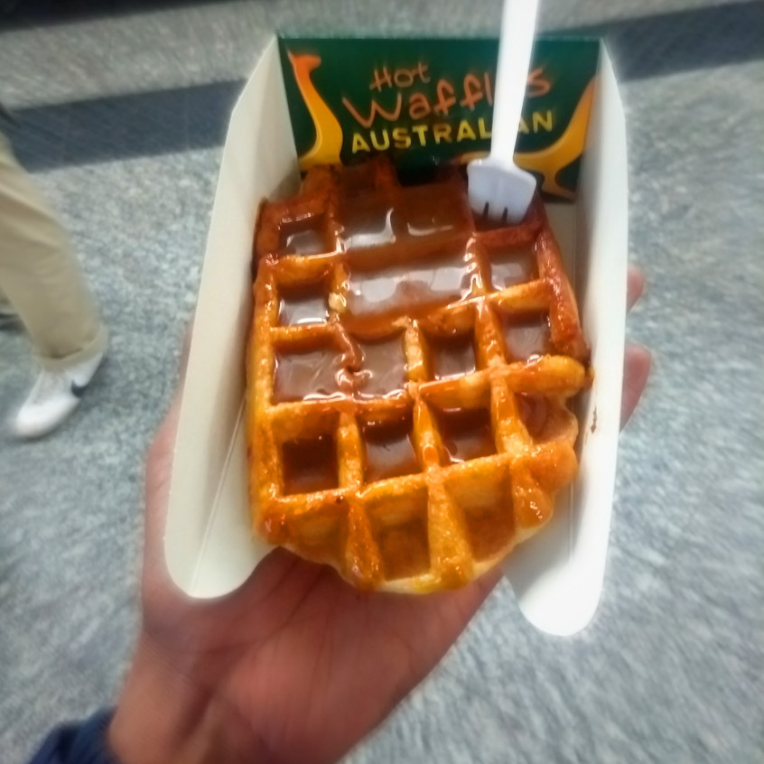 My last waffle :(