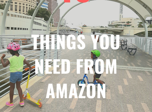 10 Things You Need From Amazon: Toddler Edition
