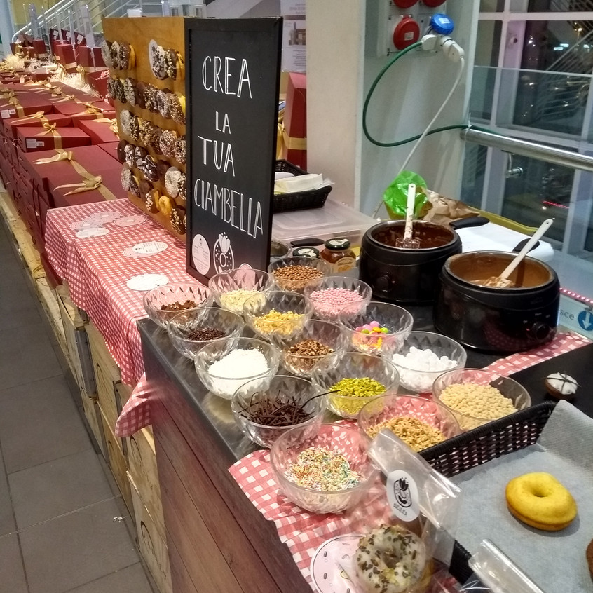 create-your-own ciambella station