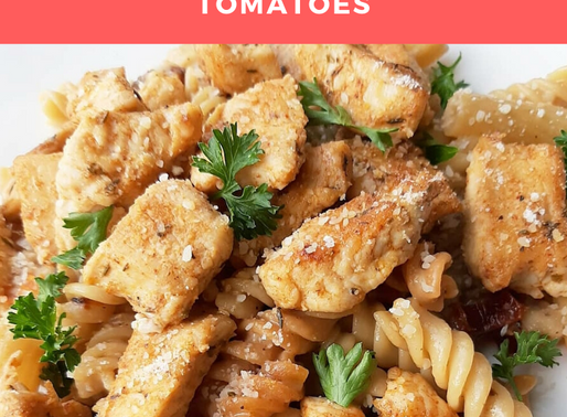Easy Parmesan Cheese Pasta with Chicken