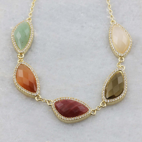 Whisper Hawaii Necklace with Natural Gemstones