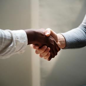 The Interview Handshake