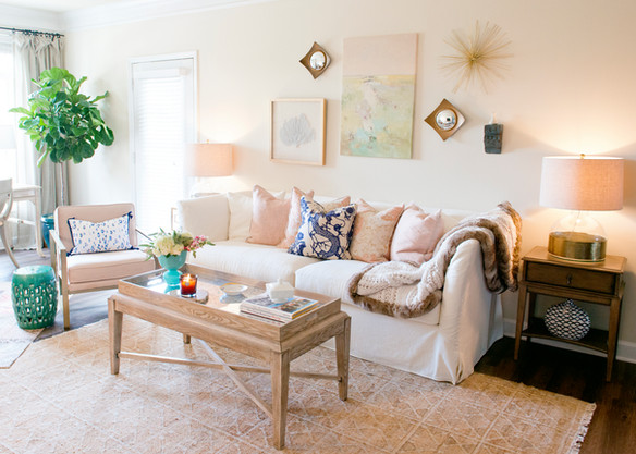 Pretty as a picture: Living Room Reveal