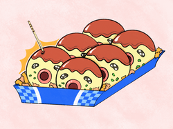 Want some Takoyaki?
