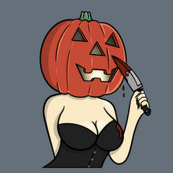 Pumpkin Pin Up