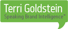 terri goldstein, the goldstein group, speaking brand intelligence