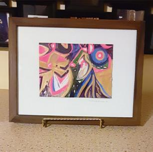 """Painting #37 """"Ms. Jo"""" Jo Allison"""