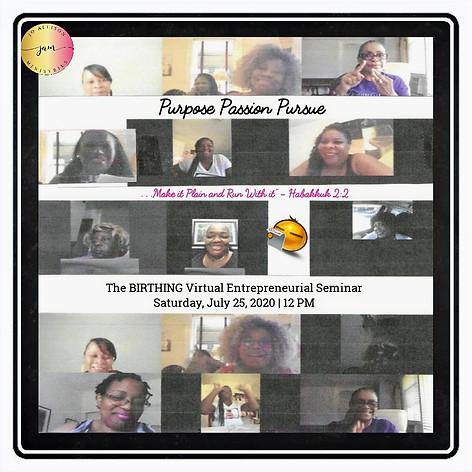 The BIRTHING Virtual Entrepreneurial Seminar